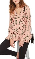 Topshop Women's Rose Bud Wrap Maternity Blouse