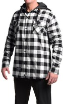 Saga Flannel Jacket - Insulated, Hooded (For Men)
