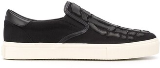 Amiri Skeleton Slip-On Trainers