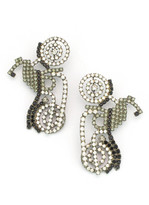 Elizabeth Cole Moto Earrings