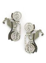 Elizabeth Cole Moto Earrings