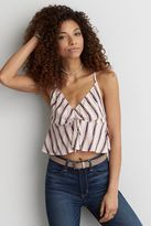 American Eagle Outfitters AE Drawstring Crop Cami