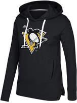 adidas Women's Pittsburgh Penguins Logo Shine Hooded Sweatshirt