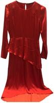 Maje Fall Winter 2018 Red Silk Dresses