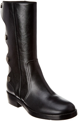Christian Dior Diorodeo Leather Boot
