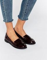 Miss KG Fringe Front Tassle Front Loafers
