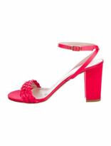 Thumbnail for your product : Aperlaï Braided Accents Sandals Red
