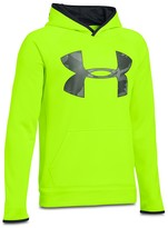 Under Armour Boys' Big Logo Fleece Storm Hoodie - Big Kid