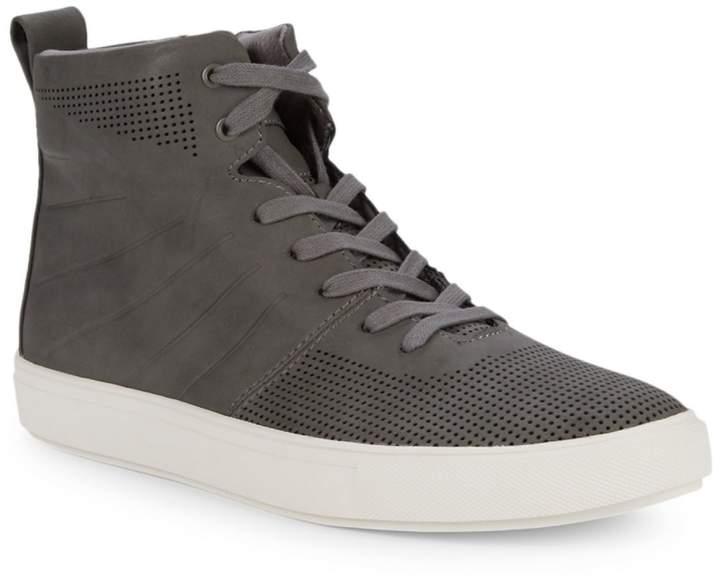 08ea7760379 Eskape Perforated High-Top Sneakers