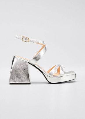 Nodaleto Bulla Siler 85mm Leather Sandals
