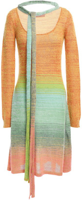 Missoni Tie-neck Degrade Knitted Dress
