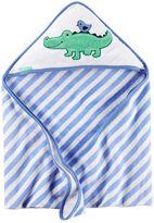 Carter's Alligator Hooded Towel