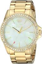 Juicy Couture Women's 1901261 Stella Analog Display Quartz Gold Watch