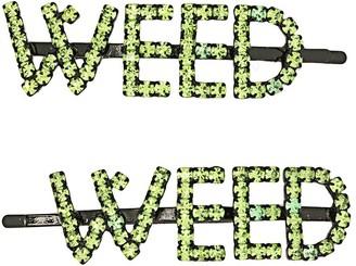 Ashley Williams Weed hair pin