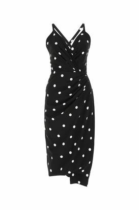 Dolce & Gabbana Polka Dot Print Sheath Dress