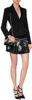 Alberta Ferretti Wool Blazer in Black