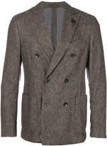 Lardini Fantasia double breasted jacket