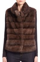 The Fur Salon Sable Fur Vest