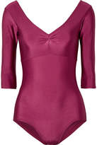 Ballet Beautiful - Stretch Leotard - Plum