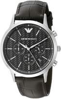 Emporio Armani Men's AR2482 Dress Analog Display Analog Quartz Watch