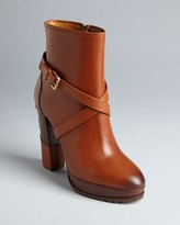 Ralph Lauren Platform Booties - Teana