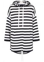 Demy Lee Haddy Striped Hooded Wool Jumper