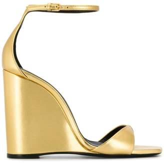 Saint Laurent Amber wedge sandals