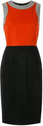 Paule Ka color-block fitted dress
