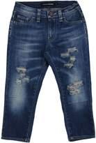 European Culture Denim pants - Item 42563746