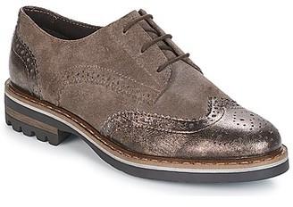 Elue par nous DEPIT women's Casual Shoes in Brown