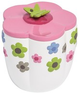 Kassatex Bambini Merry Meadow Accessories Cotton Jar - Multi-Colored