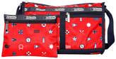 Le Sport Sac LG7519 Deluxe1 Zip Top Shoulder Bag