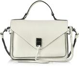 Rebecca Minkoff Darren Antique White Leather Small Messenger