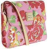 Dooney & Bourke Coated Cotton Rose Garden Letter Carrier