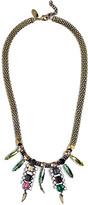 Iosselliani Gem Drops Chain Necklace
