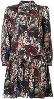 Paul & Joe rose print shirt dress