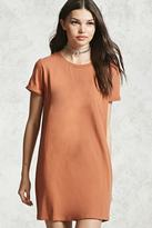 Forever 21 FOREVER 21+ Cuffed Sleeve T-Shirt Dress