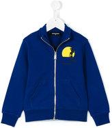 DSQUARED2 zip-up sweatshirt - kids - Cotton - 4 yrs