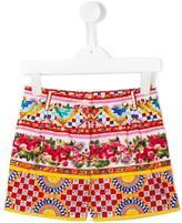 Dolce & Gabbana Mambo print shorts - kids - Cotton - 10 yrs
