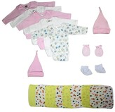 Bambini Newborn Baby Shower Layette Gift Set, 21pc (Baby Girls)