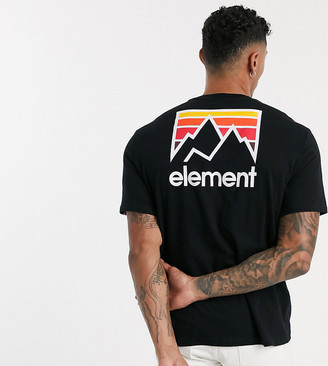 Element Joint t-shirt in black Exclusive at ASOS