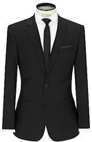 Hugo Boss Hugo By Hugo Boss Huge/genius Virgin Wool Slim Fit Suit Jacket, Black