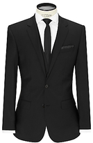 Hugo Boss Hugo Huge/genius Virgin Wool Slim Fit Suit Jacket, Black