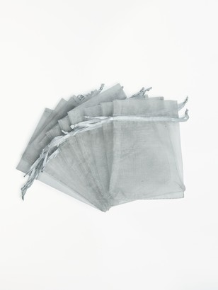 Habico Organza Bags, Pack of 10
