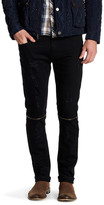 X-Ray Distressed Zip Slim Fit Jean