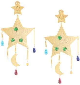 Mercedes Salazar large Star earrings