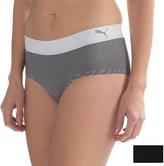 Puma Seamless Pinstripe Panties - 2-Pack, Hipster (For Women)