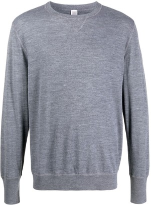 Eleventy Long-Sleeve Fitted Jumper