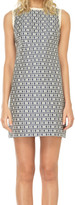 Max Studio Jacquard Shift Dress