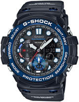 Casio G-Shock Gulfmaster Twin Sensor Series Black And Blue Watch